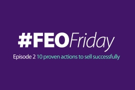 10 proven actions to sell successfully with #FEOFriday