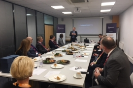 KCOM host FEO's latest Key Partner Lunch