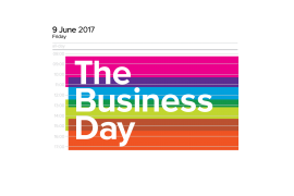 Be inspired at The Business Day, Bridlington Spa on June 9th 2017