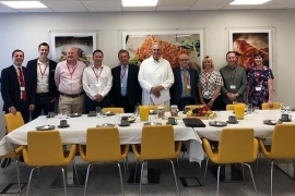 FEO Key Partners meet Cranswick Food Hero Martin Heap