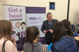 FEO Attend Wilberforce College Careers Fair