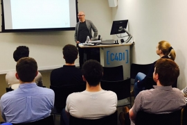 FEO Director Jonathan Elvidge inspires Tech Businesses at C4Di