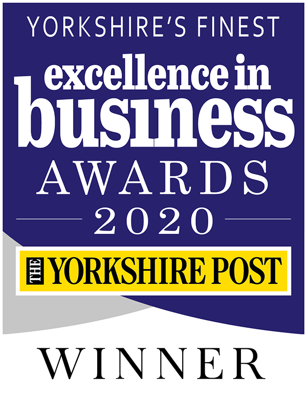 Yorkshire's Finest - Excellence in business awards 2020 - Yorkshire Post - Winner